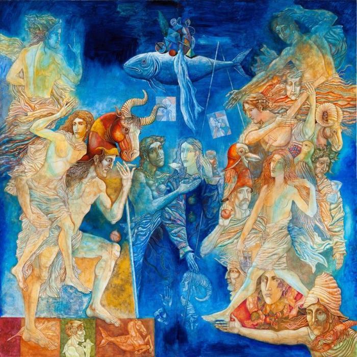 Болгарский художник. Stoimen Stoilov