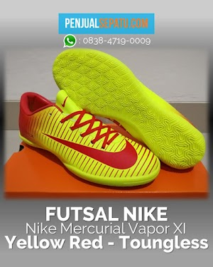 Nike Mercurial Vapor XI Yellow Red - Toungless