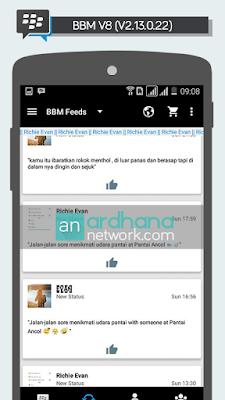BBM V8 - BBM MOD Android V2.13.0.22