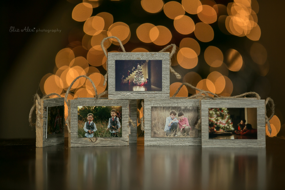 christmas photo ornaments woodlands texas