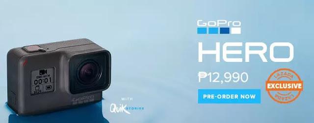Pre-Order GoPro Hero at Lazada