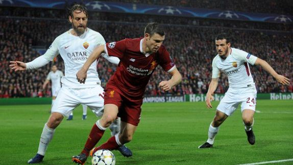 James Milner has broken a Champions League record