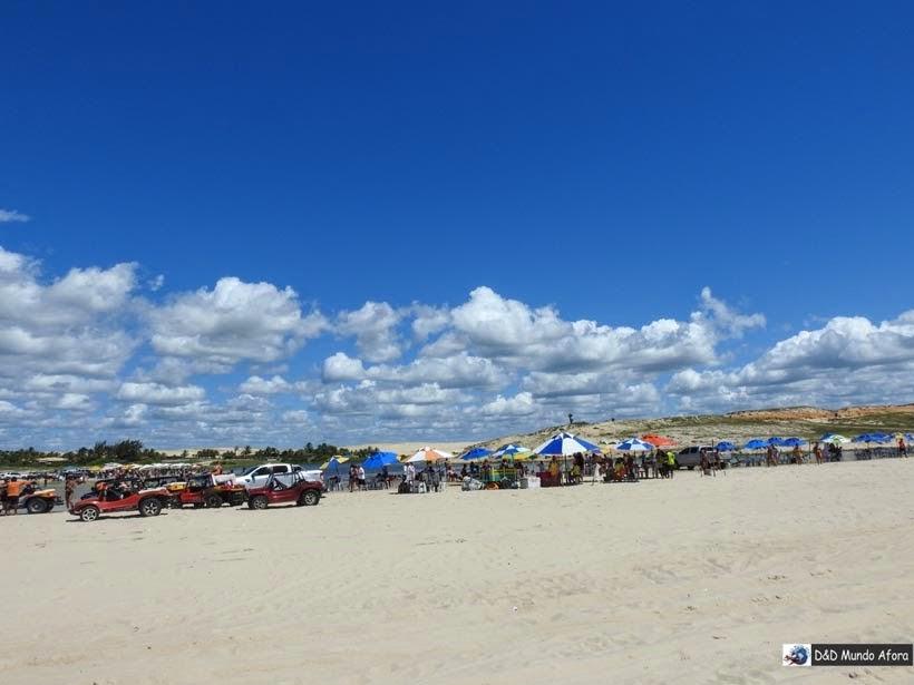 Lagoa do Uruaú - Morro Branco e Praia das Fontes - Tour 3 Praias