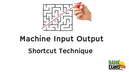 machine input