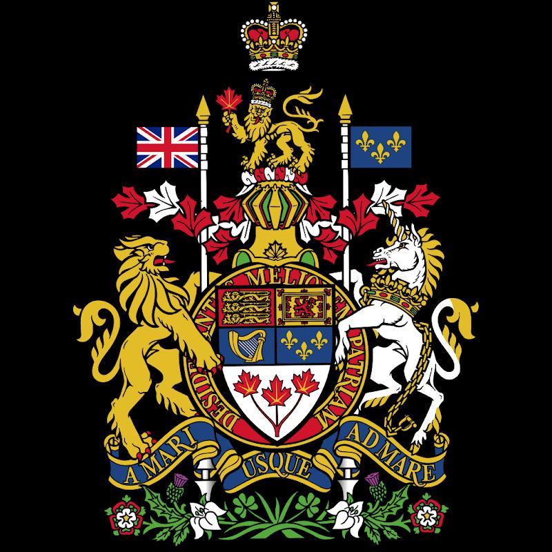 Logo Gambar Lambang Simbol Negara Kanada PNG JPG ukuran 800 px