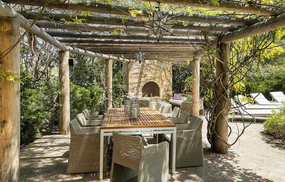 Realizzare una zona pranzo in giardino dettagli home decor for Zona pranzo design