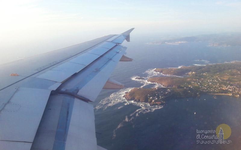 Voli per A Coruña