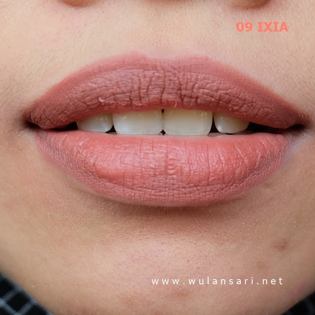 review purbasari hi-matte lip cream 09 ixia