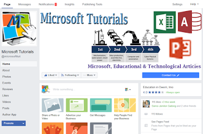 Microsoft Tutorials fan page