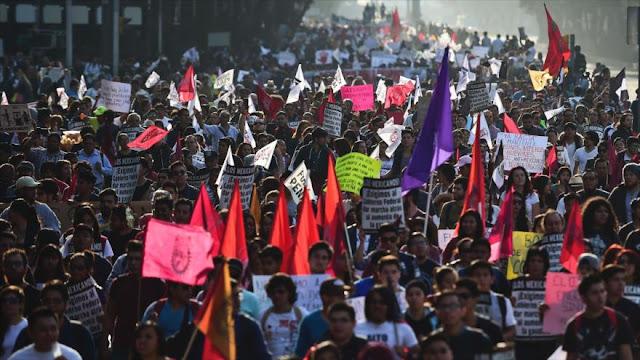 México acusa a oposición de promover protestas contra Gasolinazo