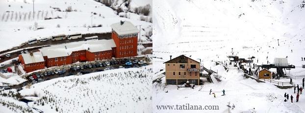 Bozdağ Kayak Merkezi Otelleri