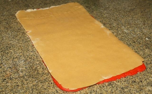 Rueditas de menta (galletitas) / Mint pinwheel cookies