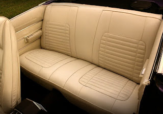 1970 Dodge Charger 500 Sports Convertible Seat Rear