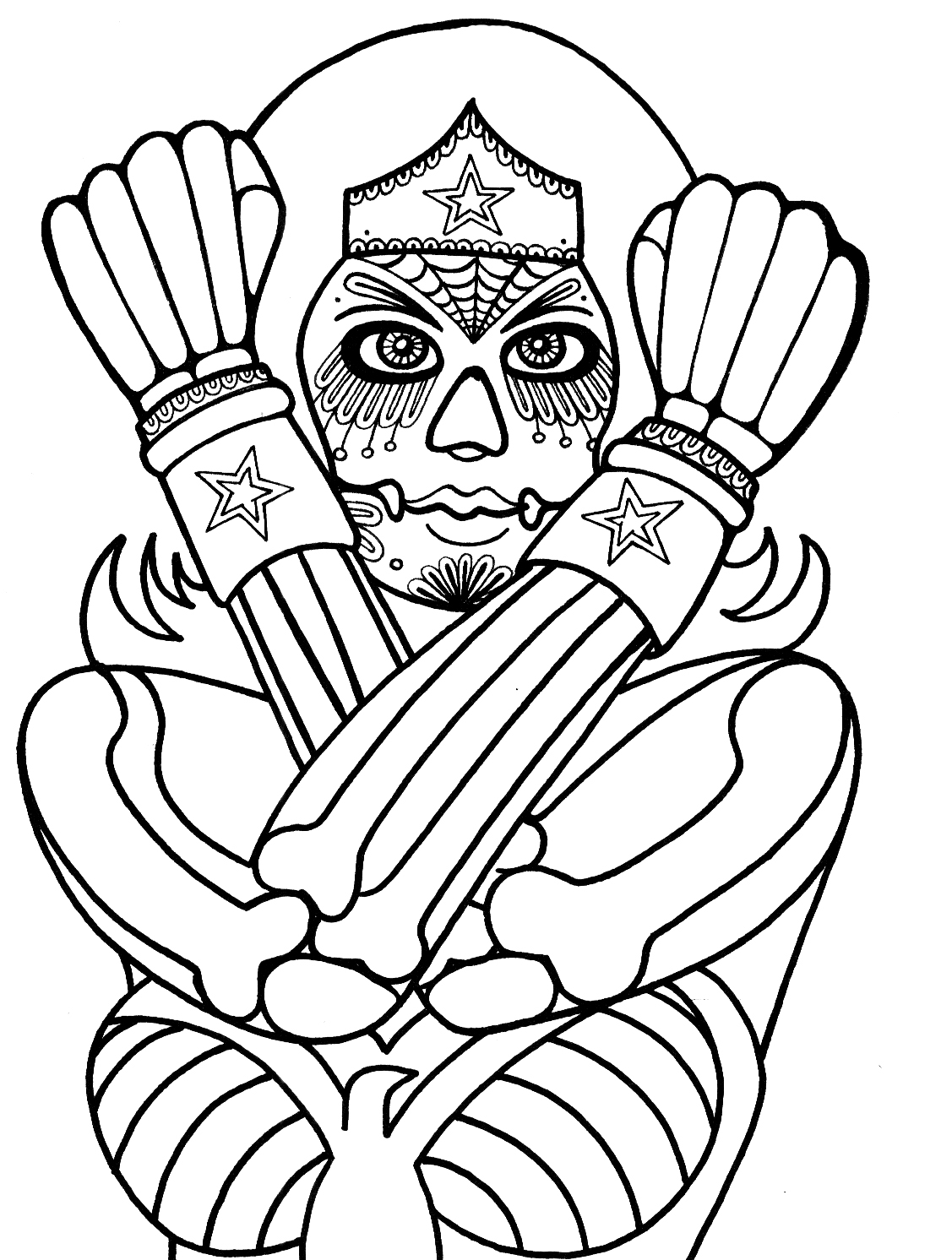 Yucca Flats N M Wenchkin S Coloring Pages