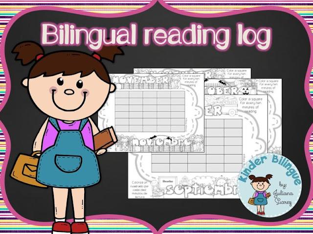 Bilingual Reading Log