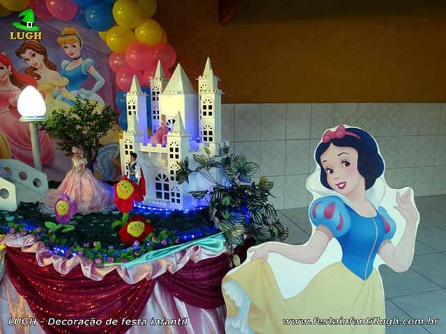 Ornamentação tema das Princesas - Festa -infantil