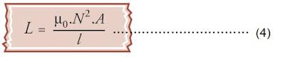 induktansi diri solenoida atau toroida