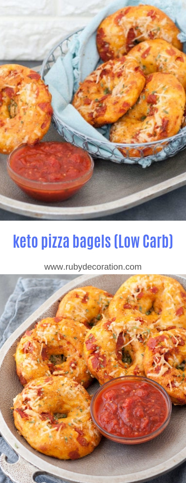 keto pizza bagels (Low Carb)