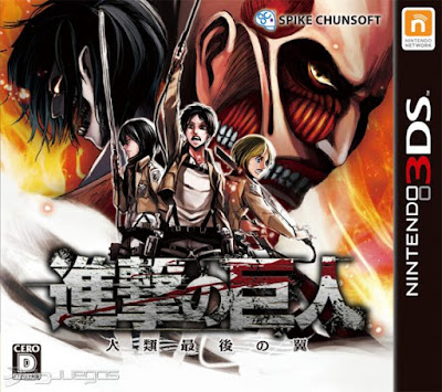 Attack on Titan Humanity in Chains Decrypted 3DS USA