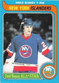 1979-80 o-pee-chee hockey card mike bossy new york islanders