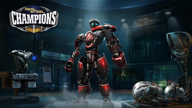 تحميل لعبة Real Steel Champions v1.0.235 مهكرة للاندرويد