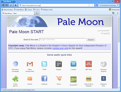 Pale Moon 28.3.0