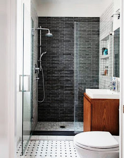 Tips Get Around A Narrow, Minimalist Bathroom