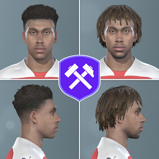 PES 2019 Faces Alex Iwobi by Volun
