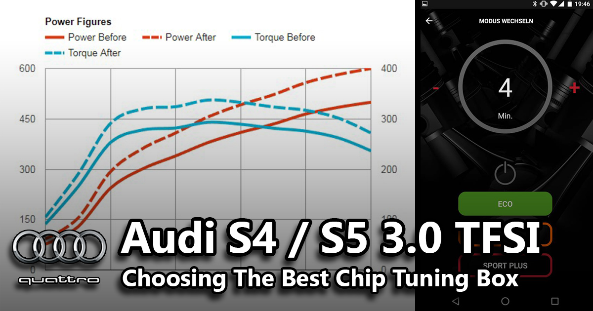 Choosing The Best Audi S5 V6 Chip Tuning Box | Audi S5 Sportback Blog