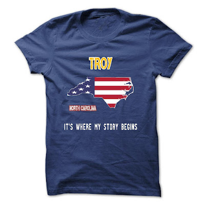 Troy city shirt where my story begin
