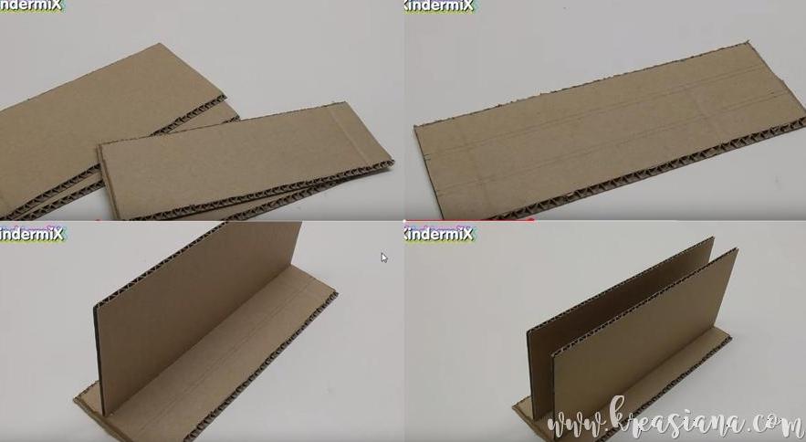 Cara Membuat Kotak Pensil Dari Kardus Bekas Beserta