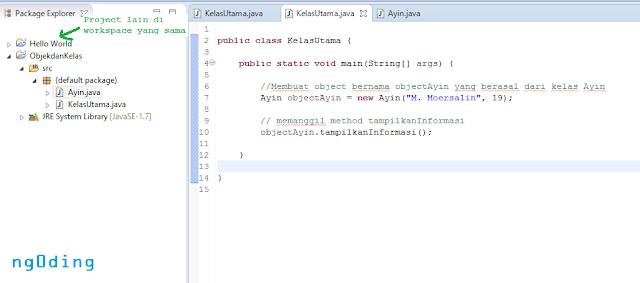 Objek Dan Kelas Dalam Bahasa Pemrograman Java