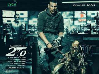 Akshay Kumar's look in Robot 2
