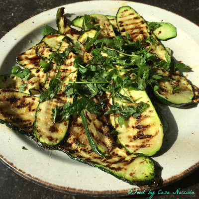 Grilled Zucchini with Fresh Herbs
