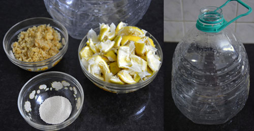 Natural multipurpose cleaner recipe