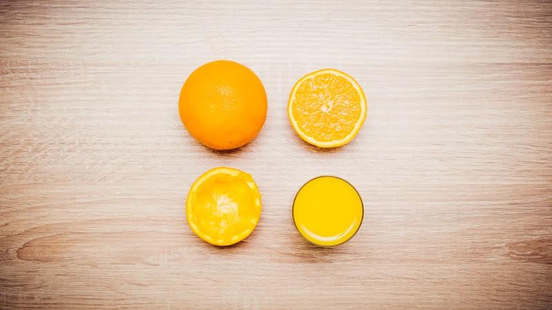 Orange Fruit and Orange Juice