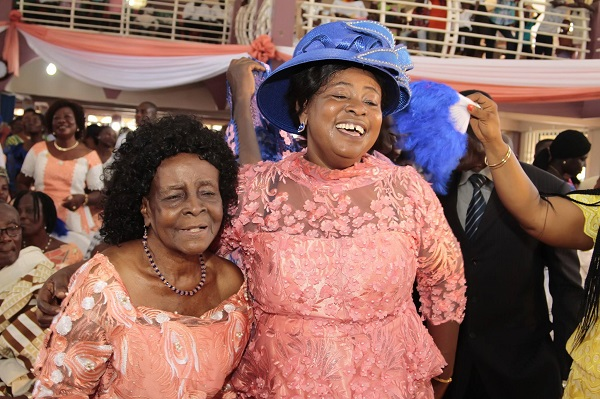 Gospel Musician Mama Esther with her 102-year-old mother