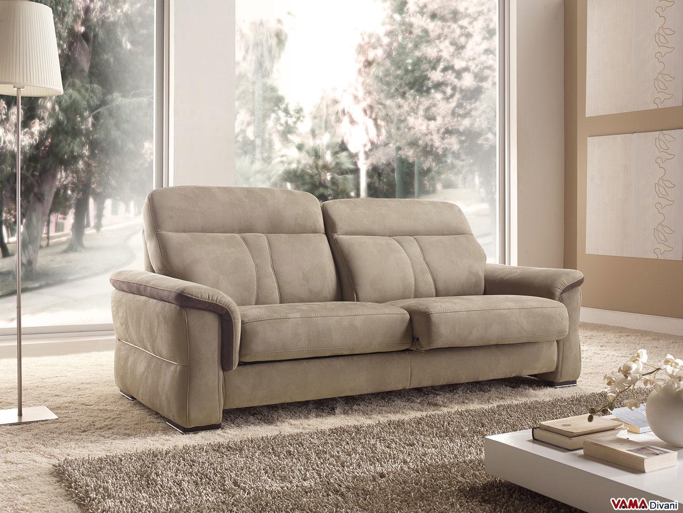 Vama divani blog sherwood il divano moderno con sedute slide - Pulire divano microfibra ...