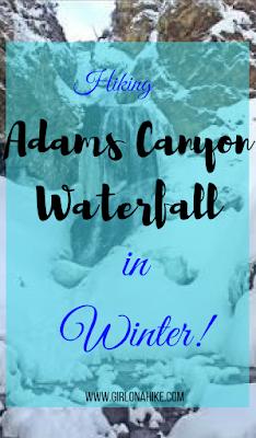 Hiking to Adam's Canyon Waterfall, Utah, Hiking in Utah with Dogs