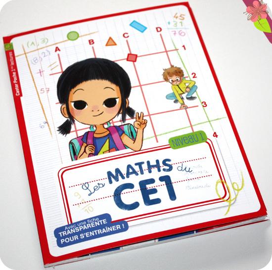 Les maths du CE1 de Marie-Pierre Laforgue et Emmanuelle Ristord - Flammarion