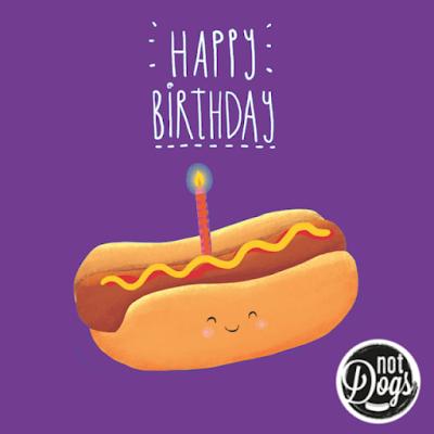 Hotdog card