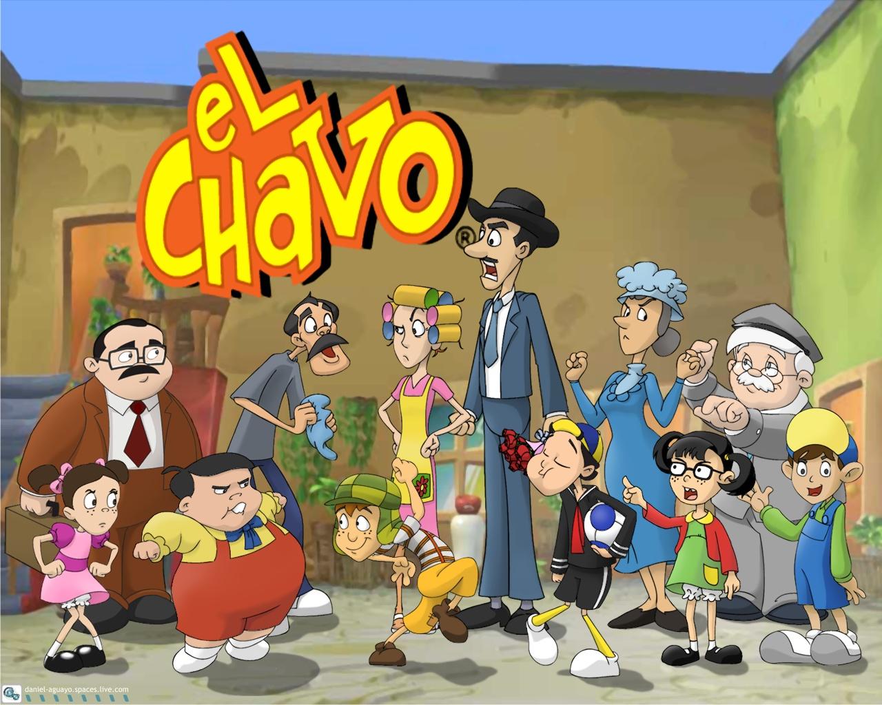 El Chavo Del Ocho Cartoon