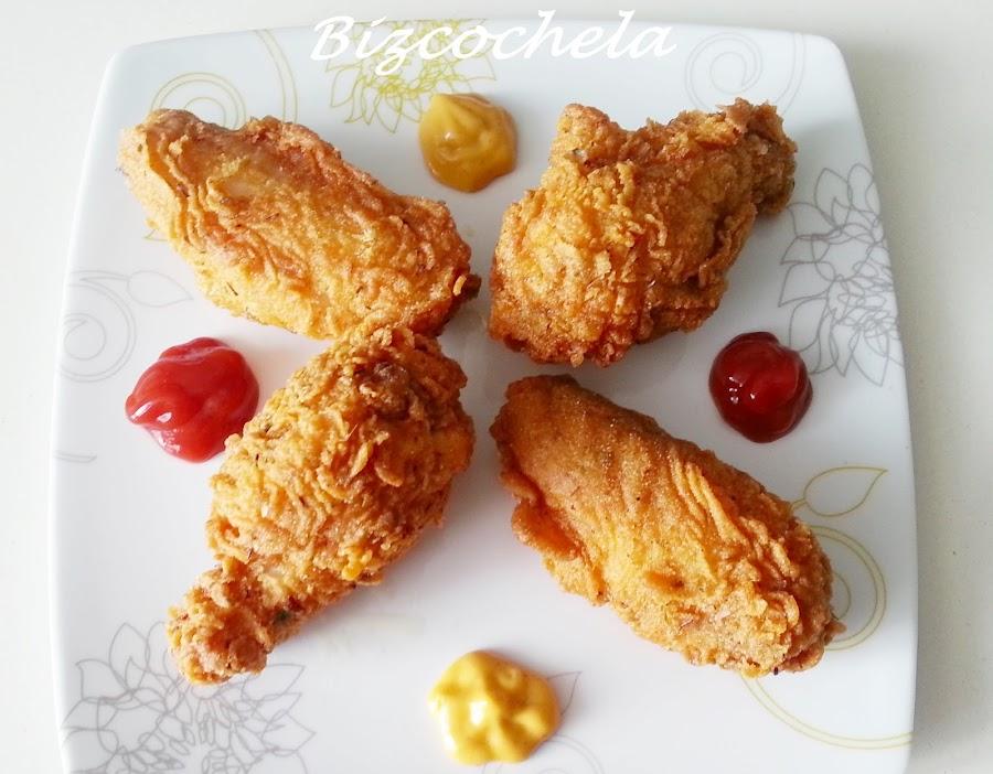 Pollo frito al estilo del KFC. ¿Habremos descubierto su fórmula secreta?