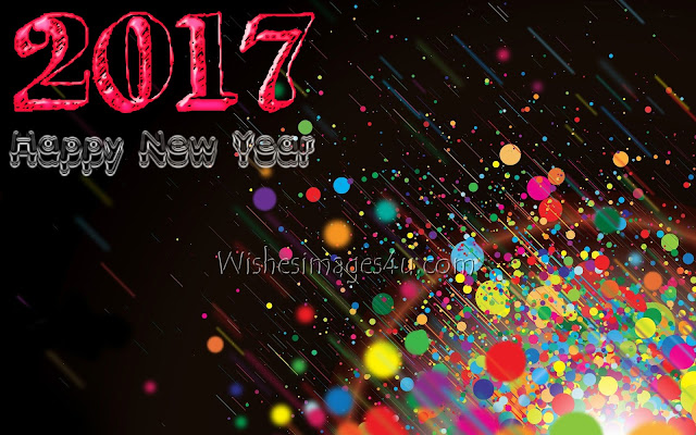 Happy New Year 2017 Beautiful 3D {HD} Photo Download For Desktop/pc