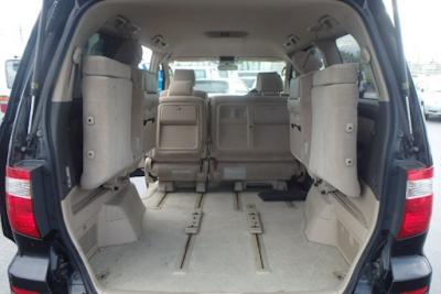 Pelipatan Jok Toyota Alphard Gen1