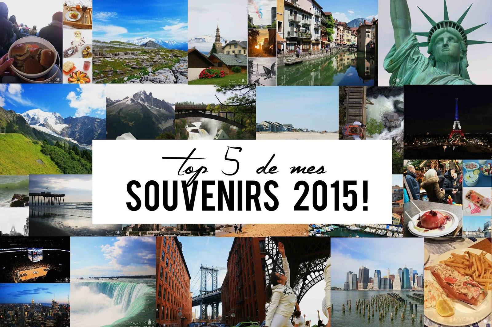 My Travel Background : top 5 de mes souvenirs 2015 !