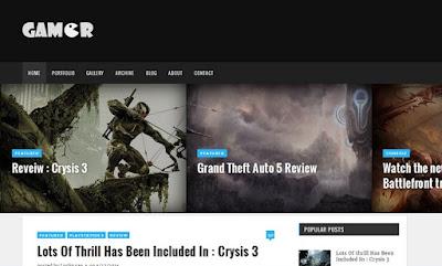 Gamer - Creative gaming theme