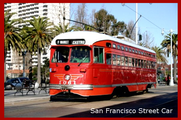 San Francisco Municipal Railway Street Car