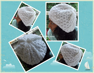 crochet girl headwear