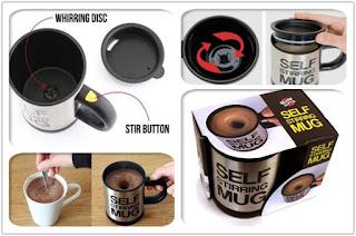 jual barang unik china di surabaya, distributor barang unik china di surabaya, reseller barang unik di surabaya, jual self stirring mug, jual gelas aduk otomatis surabaya
